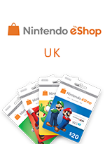 Nintendo Wii eShop Card UK (United Kingdom)