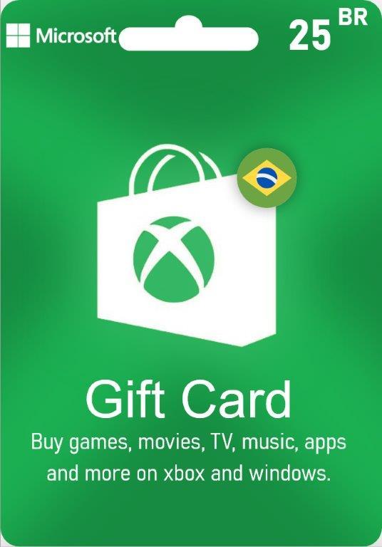 XBox Live Gift Card Brazil - BR $25