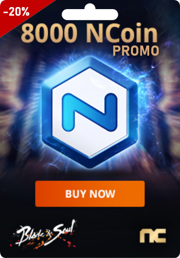 NCSOFT 8000 Ncoin - PROMO