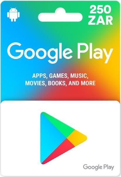 Google Play Gift Card - South Africa ZAR 250