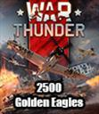 War Thunder 2500 Golden Eagles
