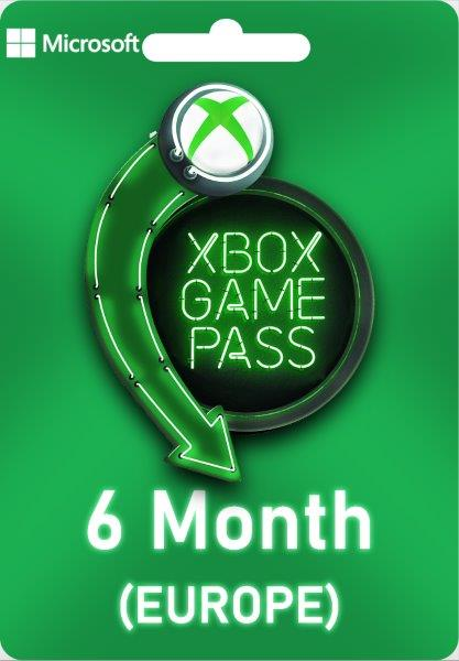 Xbox Live Game Pass EUROPE - 6 Month Europe