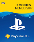 PSN Plus Membership Hong Kong - 3 Month HKD