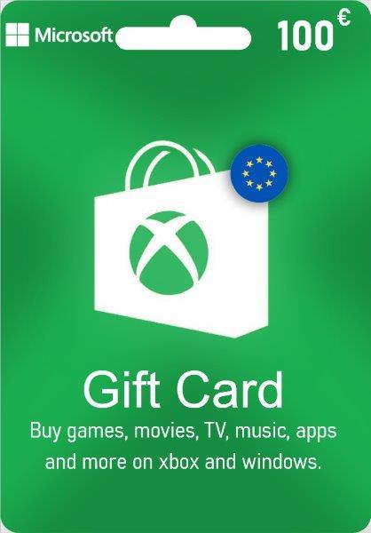 Xbox Live Gift Card EUROPE - € 100