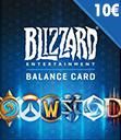 BattleNet Gift Card 10 €