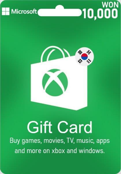 XBox Live Give Card South Korea - 10.000 WON