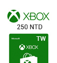 XBox Live Gift Card Taiwan - 250 NTD-TW