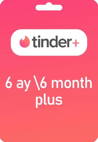 Tinder Plus 6 Ay Plus