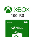 Microsoft Points XBox Live Gift Card BR - R$100