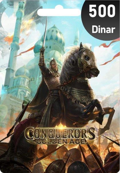 Conquerors Golden Age 500 Dinar