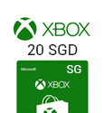 Xbox Live Gift Card Singapore - 20 SGD