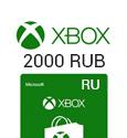 Microsoft Points XBox Live Gift Card 2000 RUB