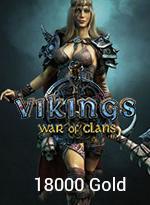 Vikings: War Of Clans 18000 Gold - 49,99 MTC EPIN