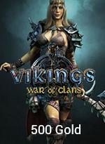 Vikings: War Of Clans 500 Gold - 1,99 MTC EPIN