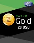 20 USD Razer Gold Global Pin