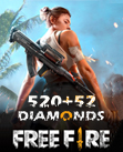 Free Fire 520 + 52 Diamonds
