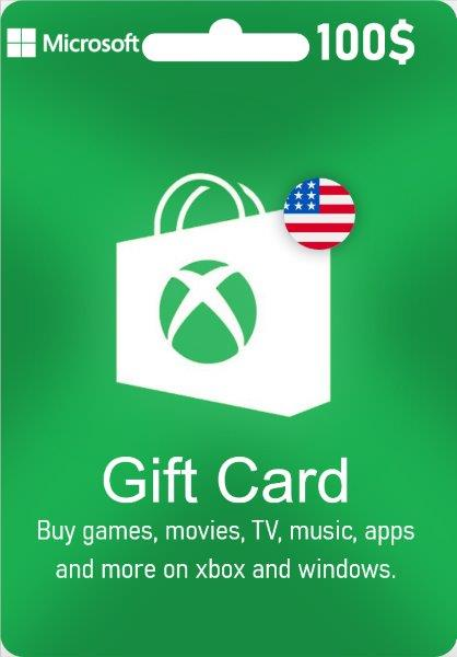 Xbox Live Gift Card - US$ 100