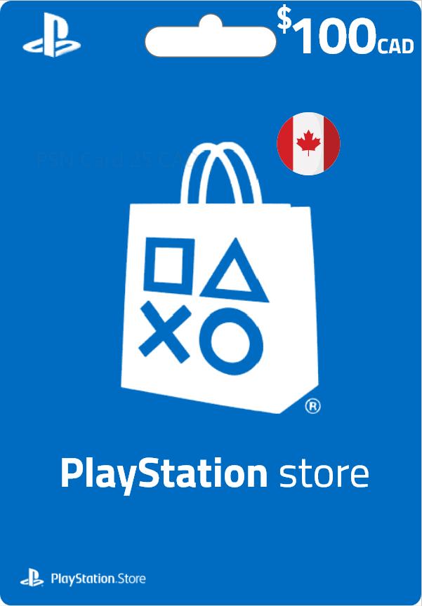 PSN Card Canada - CA 100