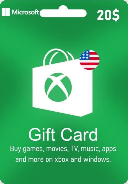 Xbox Live Gift Card - US$ 20