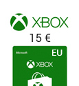 Xbox Live Gift Card EUROPE - € 15