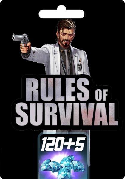 Rules of Survival 120+5 Diamonds