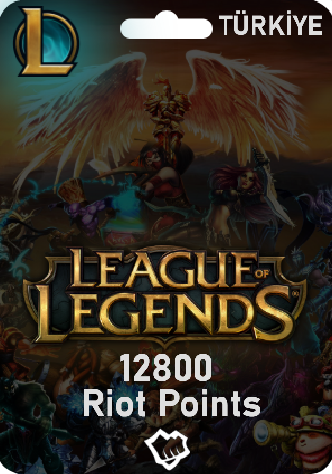 Riot Points 12800 RP