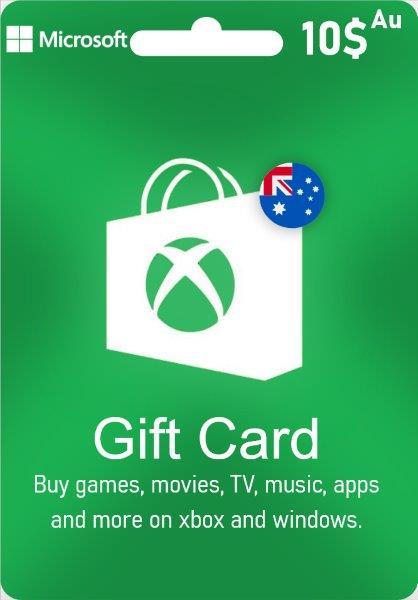 Xbox Live Gift Card Australia - AUD $ 10