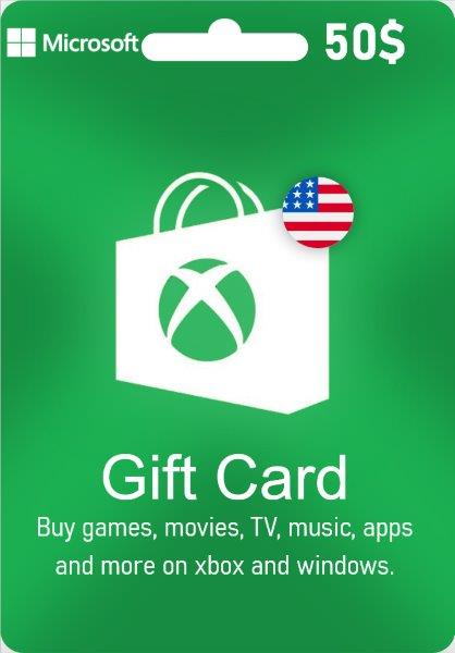 Xbox Live Gift Card - US$ 50