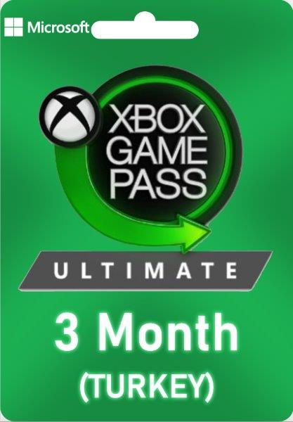 Xbox Game Pass Ultimate 3 Month (Turkey)
