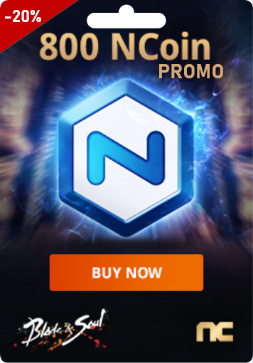 NCSOFT 800 Ncoin - PROMO