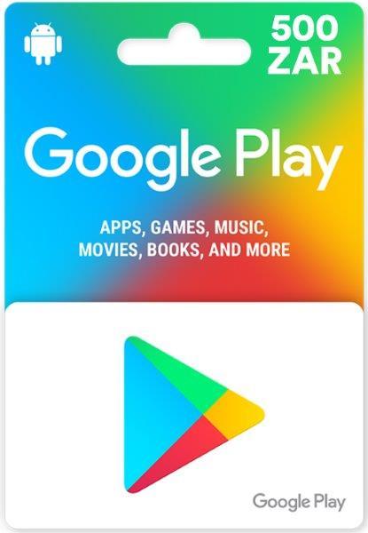 Google Play Gift Card - South Africa ZAR 500