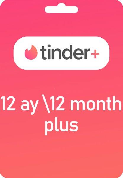 Tinder Plus 12 Ay Plus
