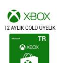 Xbox 12 Aylık Gold Üyelik (Türkiye)