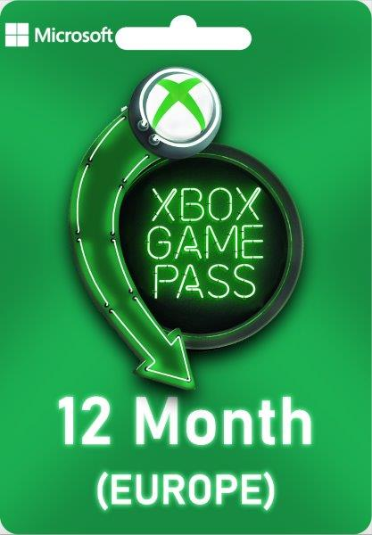 Xbox Game Pass Ultimate - 12 Months EU