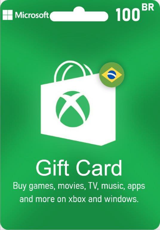 XBox Live Gift Card Brazil - BR $100