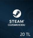 Steam Wallet 20 TL