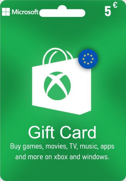 Xbox Live Gift Card EUROPE - € 5
