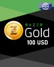 100 USD Razer Gold Global Pin