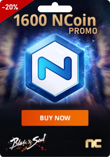 NCSOFT 1600 Ncoin - PROMO