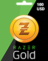 100 USD Razer Gold Global Pin