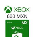 XBox Live Gift Card Mexico - 600 MXN
