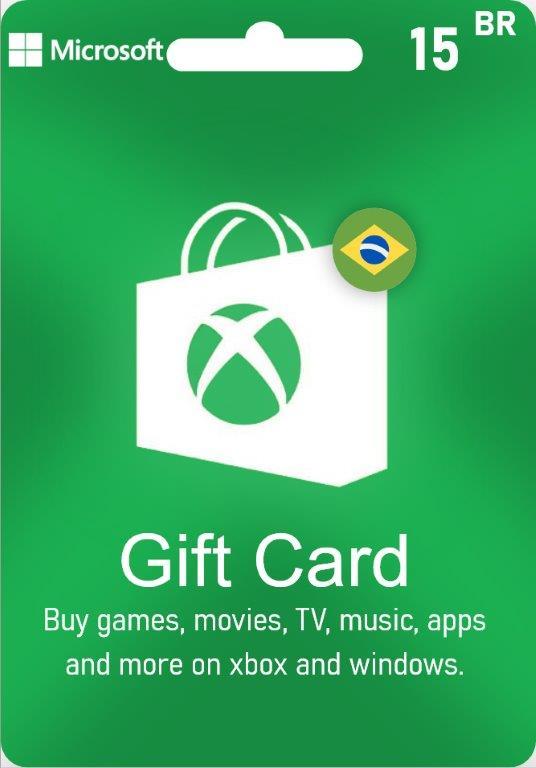 XBox Live Gift Card Brazil - BR $15