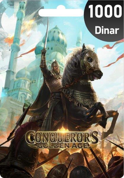 Conquerors Golden Age 1000 Dinar