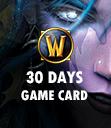Battle.net Wow Pre-Paid 30 Days Game Card