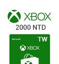 XBox Live Gift Card Taiwan - 2000 NTD-TW
