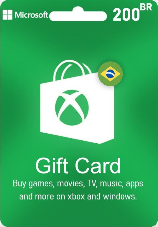 XBox Live Gift Card Brazil - BR $200