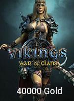 Vikings: War Of Clans 40000 Gold - 99,99 MTC EPIN